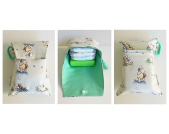 Winnie the Pooh baby nappy diaper wallet