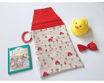 Red riding hood baby nappy diaper wallet