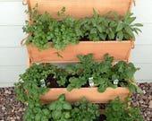 New 24 quot Large planters wall planter succulent planter cuttings gardening garden herb vertical raised bed garden decor apartment plant potato