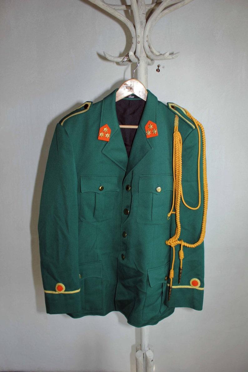 04a002515a1 Europeo ejército chaqueta invierno abrigo verde lana chaqueta