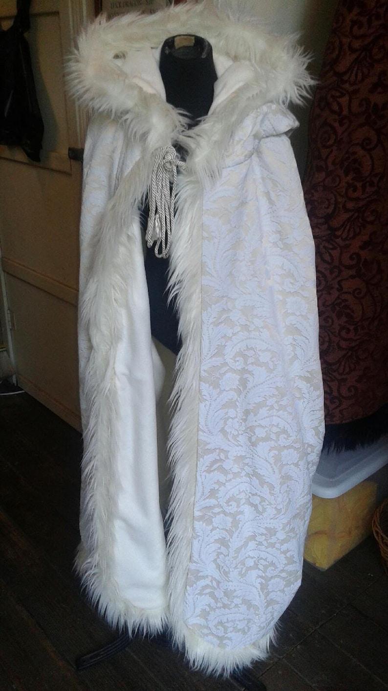 Custom Fantasy cloak with Extra Large Hood