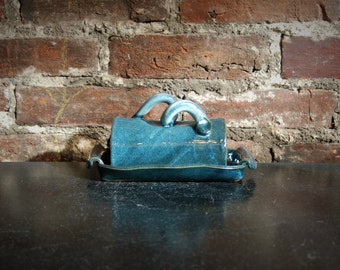 Butter Dish - Blue Cheese