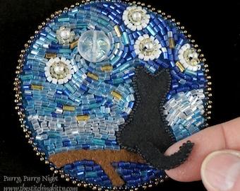 Van Gogh Bead Ornament Embroidery KIT