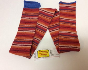 75 pre-made 72 stitch machine knitted SOCK TUBE ready to ship