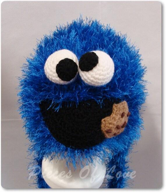 Cookie Monster Hut Geschenk für einen jungen häkeln Muppet Hut