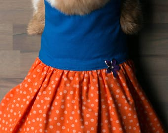 Polka Dot Rabbit Dress