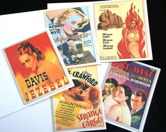 Greeting Cards  - Movies  - blank inside