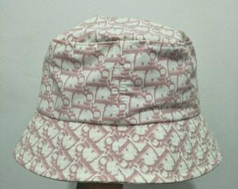 3a7ec9827ed Vintage Chtistian Dior Monogram Bucket Hat