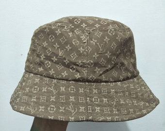 775b3ebd445 Vintage Louis Vuitton Monogram Bucket Hat Made in Italy