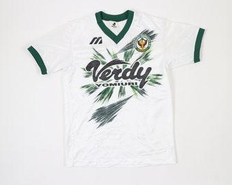 87d43430a Vintage Verdy Yomiuri J League Japan Jersey T-Shirt Mizuno