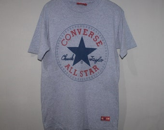 24275d9e18a3 Vintage Converse All Star Chuck Taylor T-Shirt Made in USA