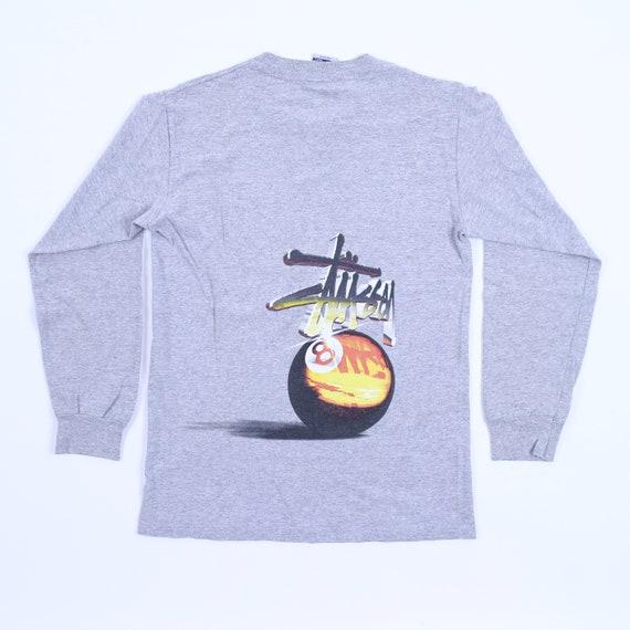 Vintage Stussy 8 Ball Long Sleeve T-Shirt