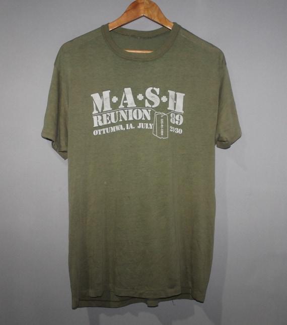 Vintage MASH Reunion 89 T-Shirt Paper Thin