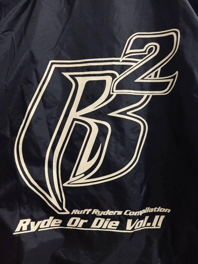 Vintage Ruff Ryders Compilation Ryde Or Die Vol  II Jakcet Rap Hip Hop  Hardcore