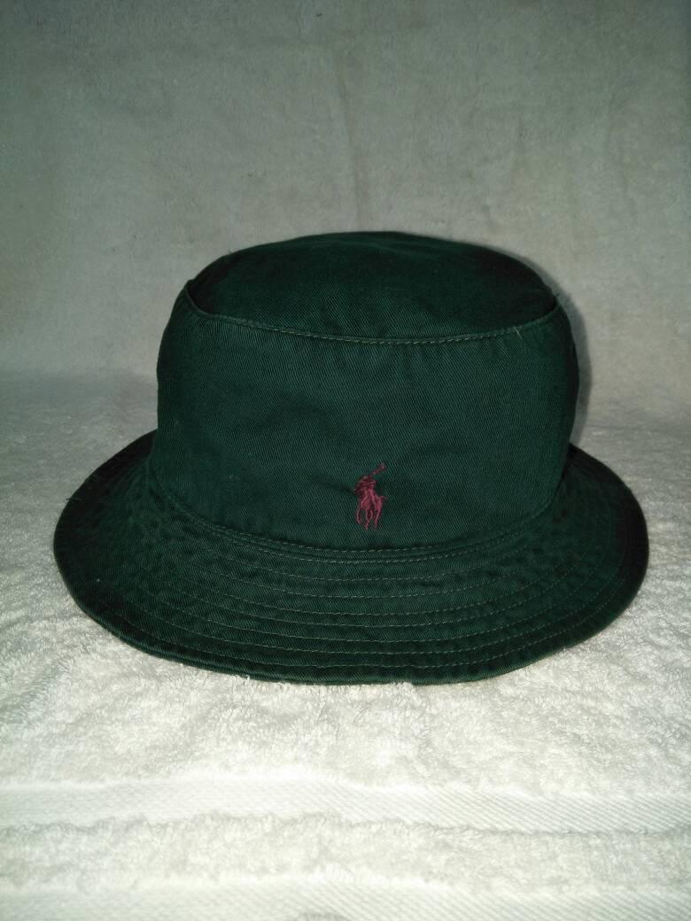 8f2bb0097dd3f Vintage Polo Ralph Lauren Classic Pony Bucket Hat Bear Hunting