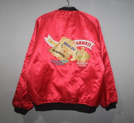 Vintage Hawaii Sukajan Souvenir Jacket