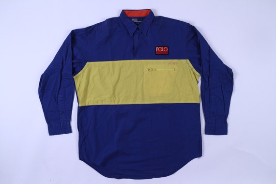 Vintage Polo Hi-Tech Ralph Lauren Half Zip Shirt S