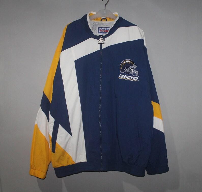 online store 9364f 9c960 Vintage San Diego Chargers Starter Jacket NFL Pro Line