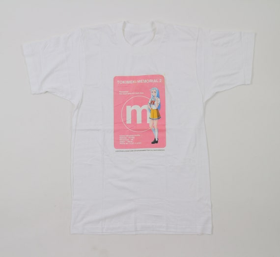 Vintage Tokimeki Memorial 2 T Shirt Kotoko Minaduki Konami Etsy