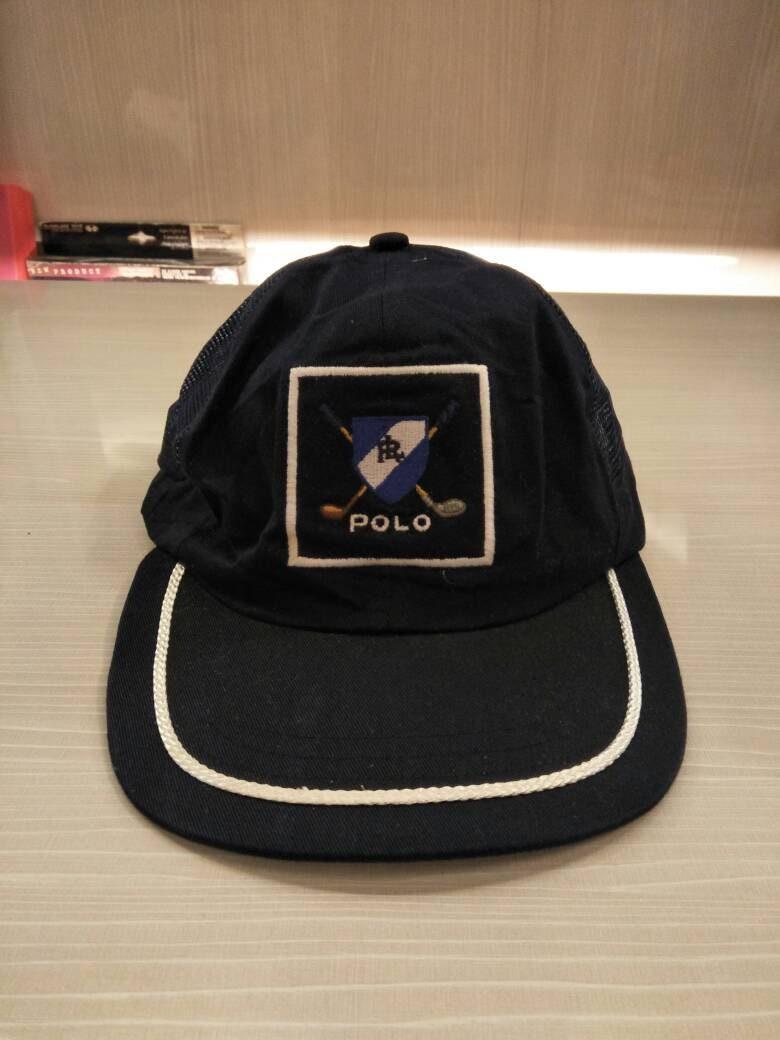 Vintage Polo Ralph Lauren Golf Cap Hat Stadium Sportsman Ski  c4f483ba435