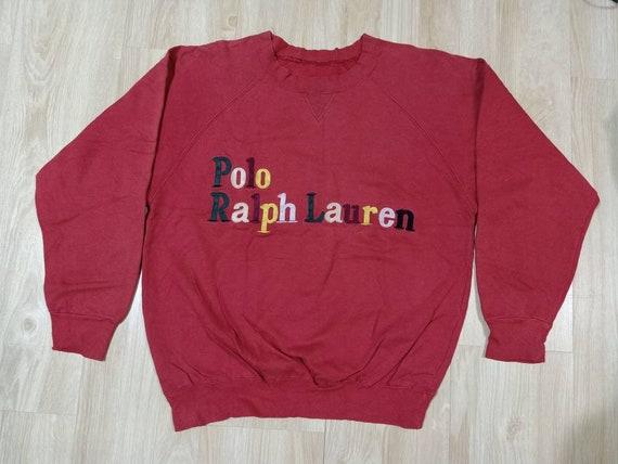 Vintage Polo Ralph Lauren Sweatshirt Stadium Spell
