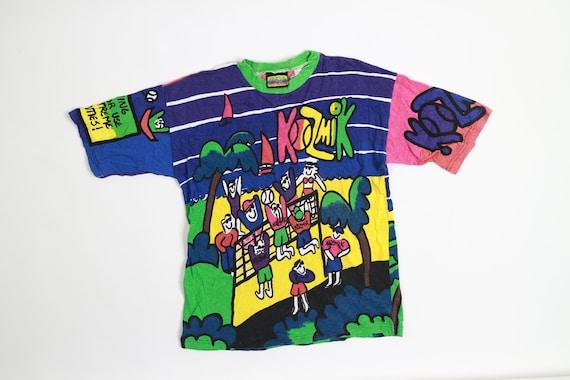 Vintage Kozmik All Over Print T-Shirt