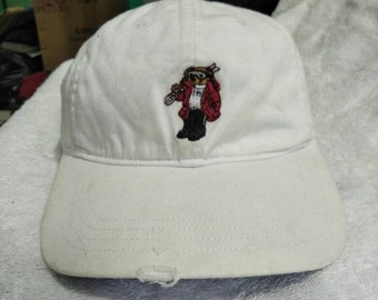 Vintage Polo Bear Ralph Lauren Cap Hat Stadium Sportsman Spell Out Ski Golf 435626e406b