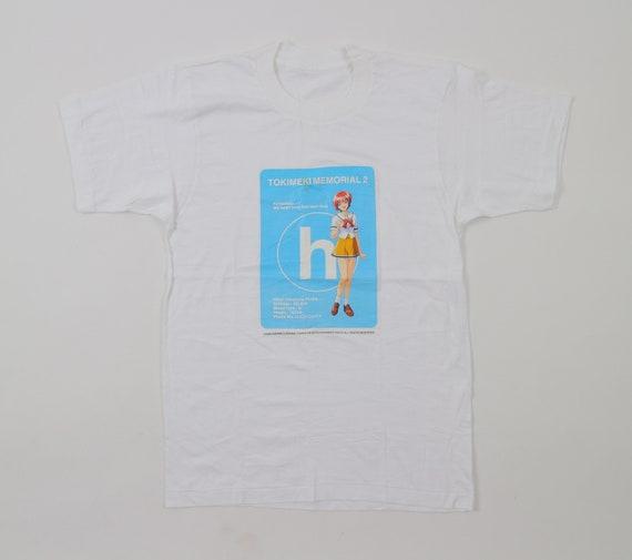 Vintage Tokimeki Memorial 2 T Shirt Hikari Hinomoto Konami Etsy