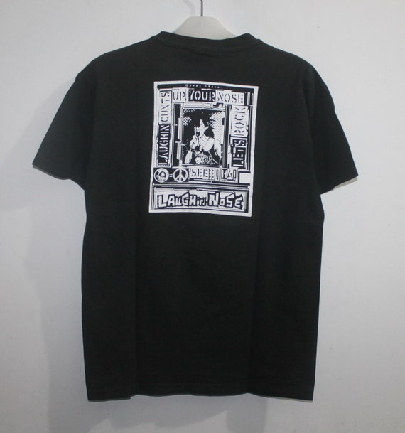 Vintage Laughin Nose T-Shirt Punk Tour Concert