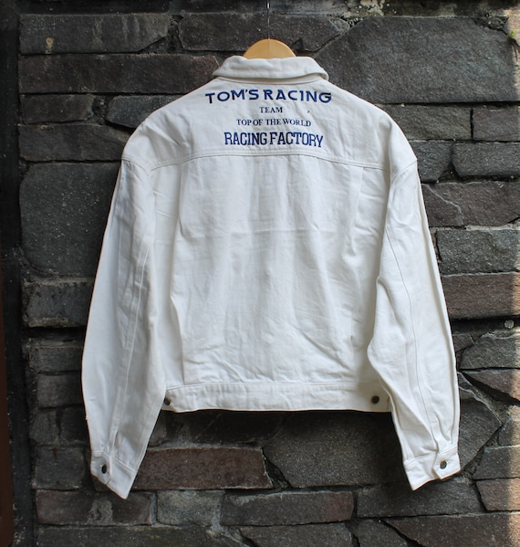 Vintage TOM'S RACING Jacket Team Racing Factory