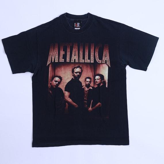 Vintage Metallica Spring 1998 T-Shirt Tour Concert