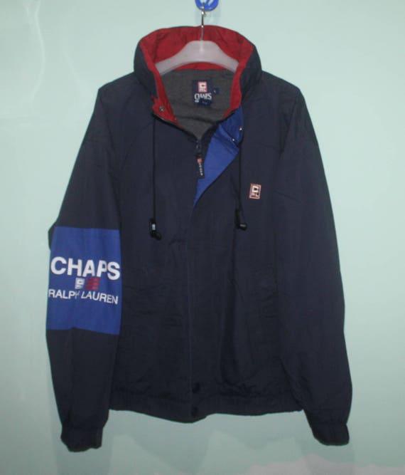 Vintage Chaps Ralph Lauren Jacket Hidden Hoodie St