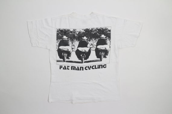 Vintage Fat Man Cycling T-Shirt Beastie Boys