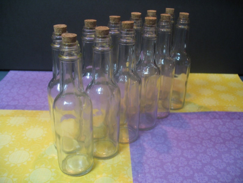 Glass Bottles With Corks 25 Invitation in a Bottle Bottles Bitty Bottles. Glass Bottles For Wedding Parties Message in a Bottle Bottles