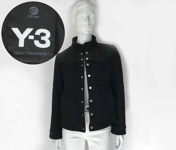 The Yohji Yamamoto Y 3 Vintage 90s Outerwear Designer Jacket Etsy