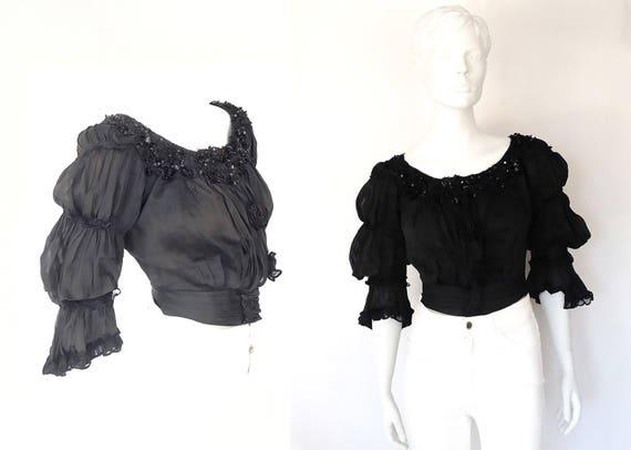The Emily Brontë Antique Vintage Blouse 1800s Jack