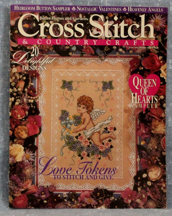 Cross Stitch Quick /& Easy JuneJuly 1991 CR0117 FREE SHIPPING