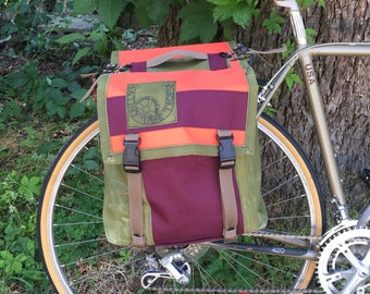 Saddle-style Panniers