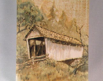 Playing Cards:  Covered Bridge