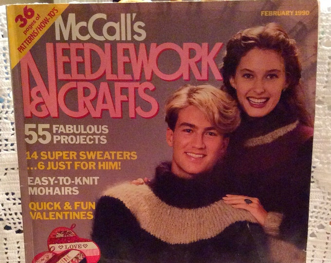 McCall's Needlework & Crafts Magazine (1990)