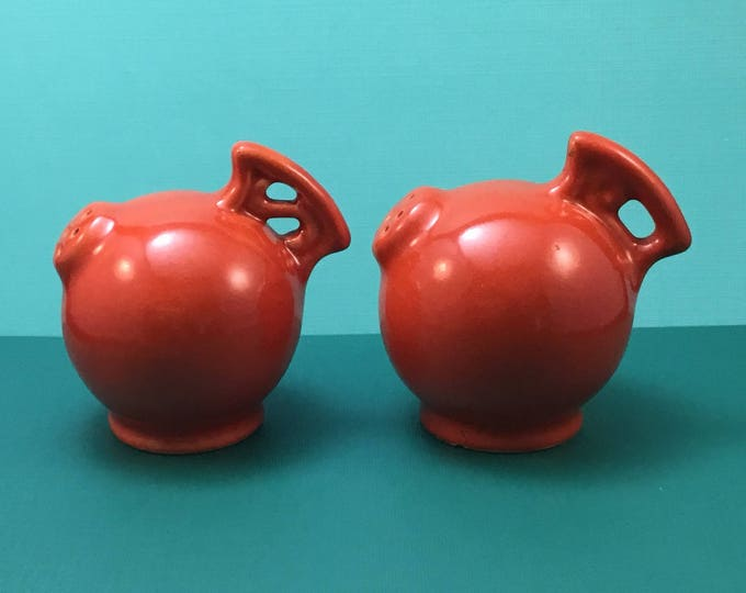 Red Wing Pottery Gypsy Trail / RumRill Salt & Pepper Shakers (1930)