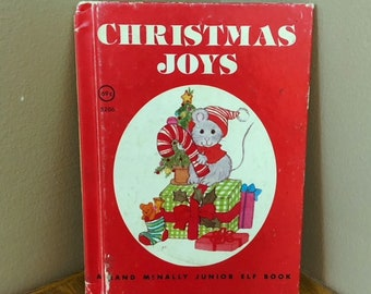 1980 CHRISTMAS JOYS A Rand McNally Junior Elf Book