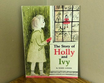 1957 The Story of HOLLY AND IVY Children's Book