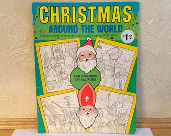 CHRISTMAS Around the World COLORING Book