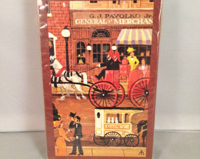 """Playing Cards: Hoyle Starcraft """"Victorian General Store"""" (Pinochle)"""