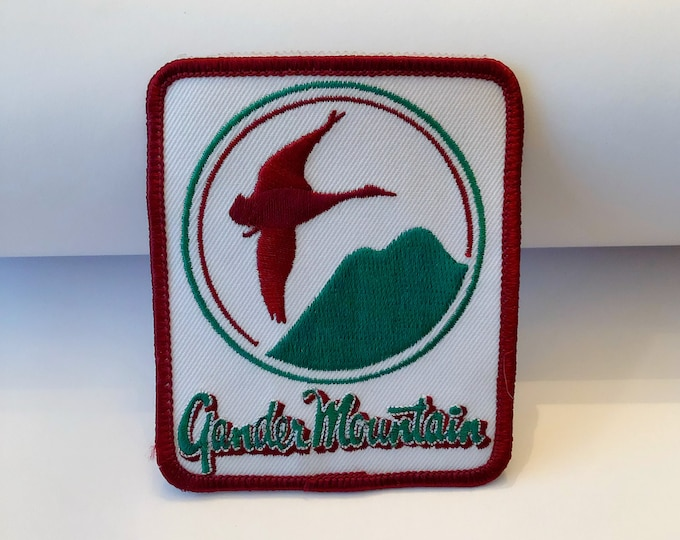 GANDER MOUNTAIN Company Logo Iron-on, Sew-on Appliqué PATCH