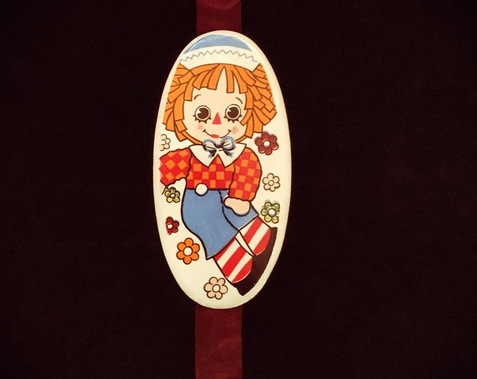 Raggedy Andy Children's Nursery Wall Decor (1970's)