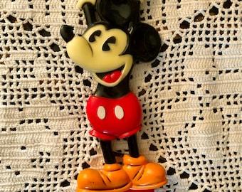 MICKEY MOUSE Walt DISNEY World Souvenir Back Scratcher 1970s