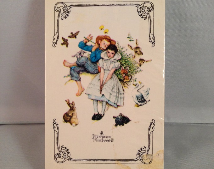"Playing Cards: Norman Rockwell ""Sweet Song So Young"""