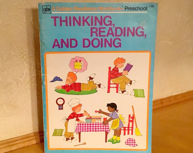"GOLDEN ""Thinking, Reading, and Doing"" READING WORKBOOK (1970)"